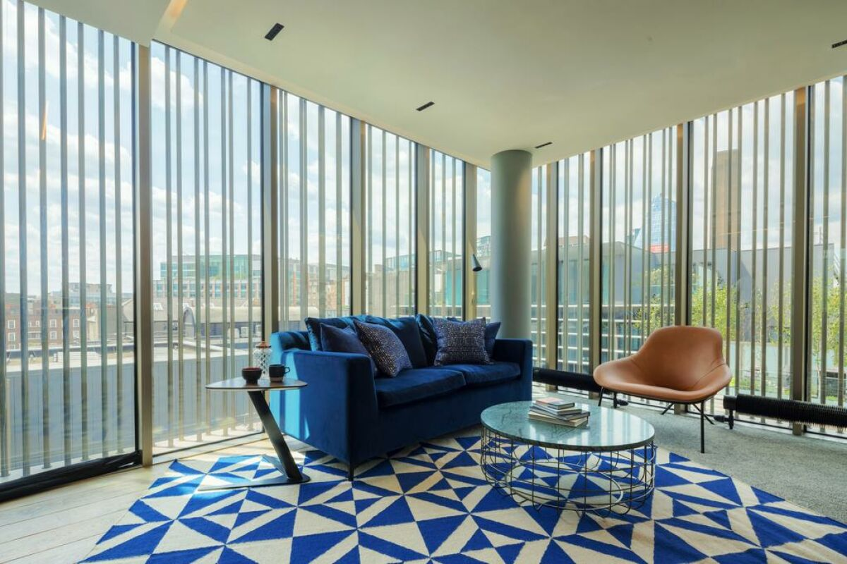 Living Area, Bankside Serviced Apartments, London
