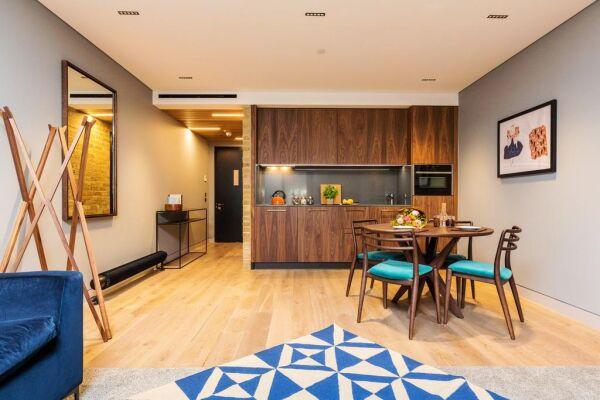 Kitchenette, Bankside Serviced Apartments, London