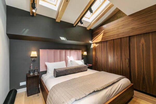 Bedroom, Bankside Serviced Apartments, London