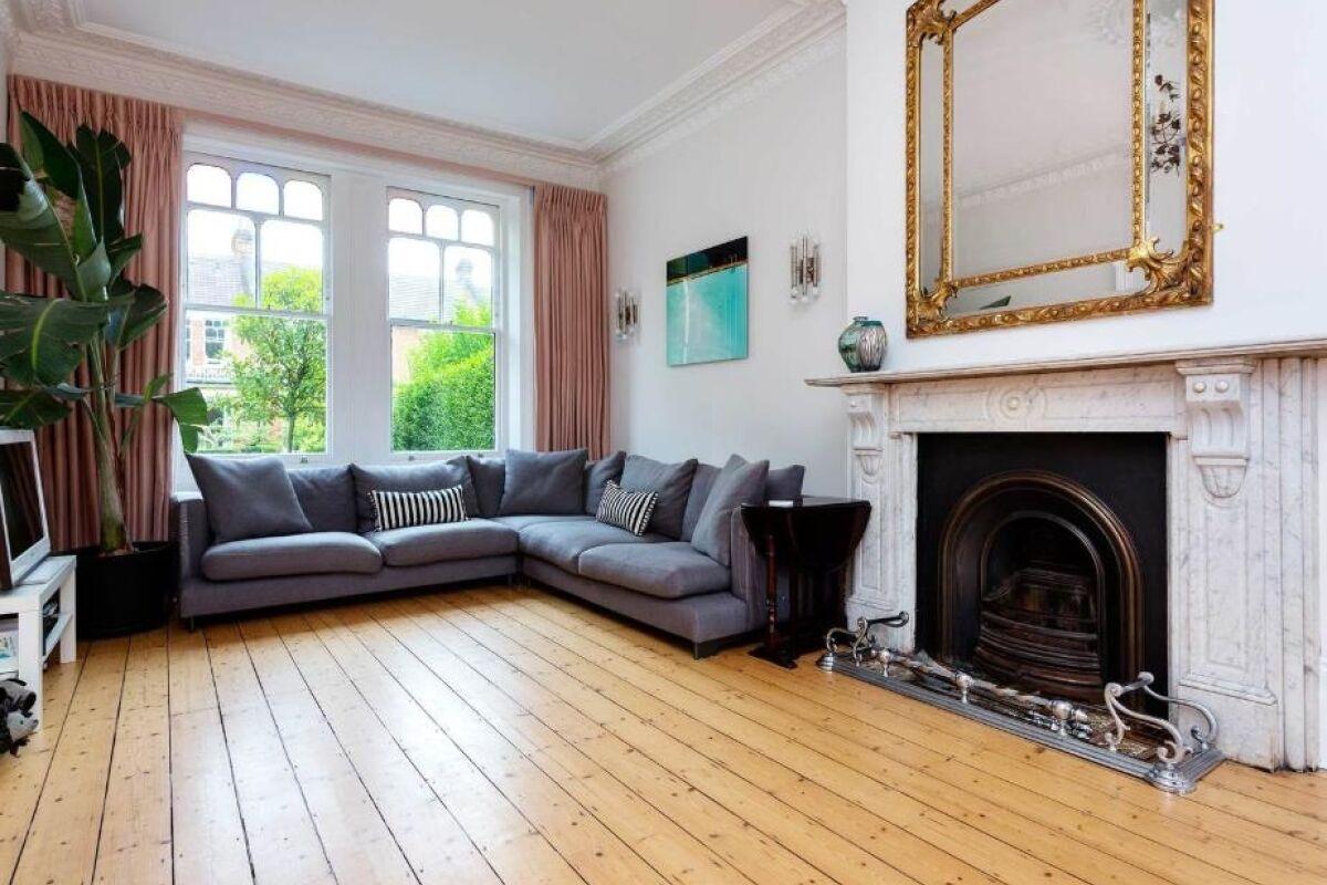 Living Area, Harringay Serviced Accommodation, London