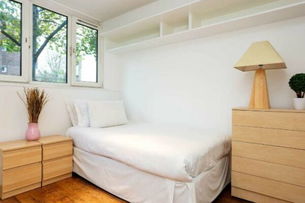 Bedroom, Chelsea Garden Serviced Apartments, London