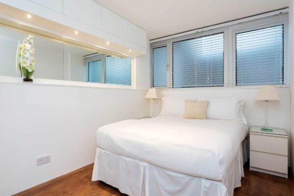 Bedroom, Chelsea Garden Serviced Apartments, London
