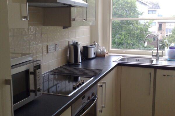 Kitchen, Douglas House Serviced Apartment, Cheltenham