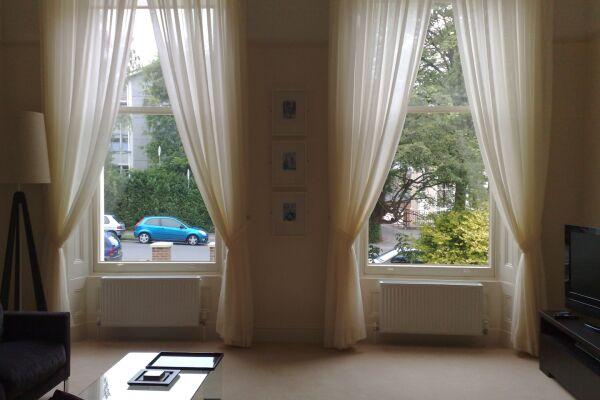 Living Area, Douglas House Serviced Apartment, Cheltenham