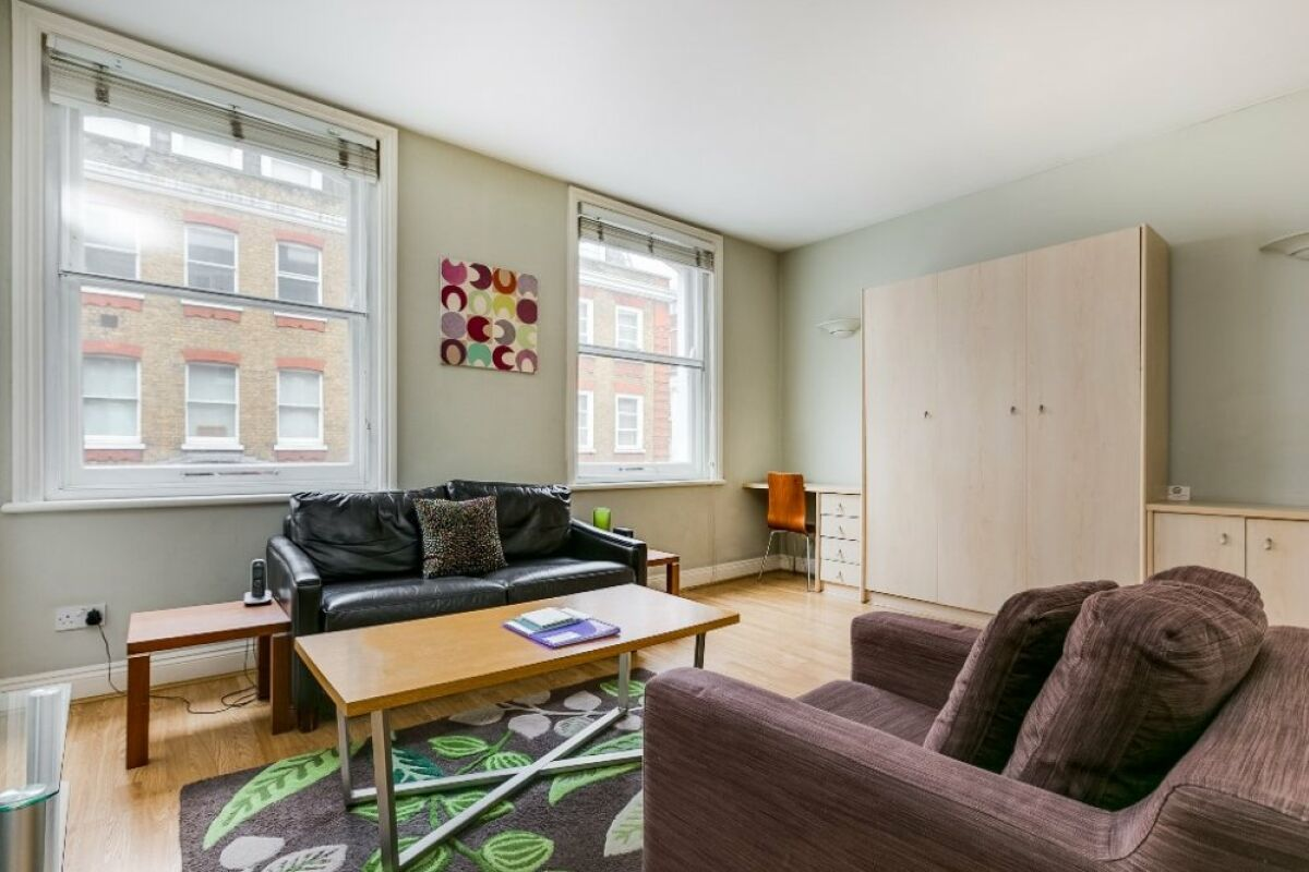 Living Area, 54 James Street Serviced Apartments, Marylebone