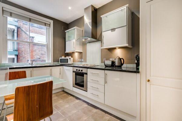 Kitchen, 54 James Street Serviced Apartments, Marylebone