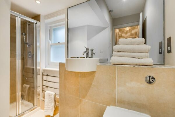 Shower Room, 54 James Street Serviced Apartments, Marylebone