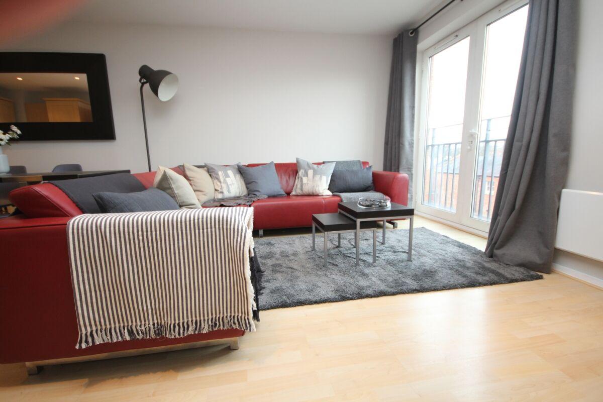 Living Area, The Napoleon Serviced Apartment, Leamington Spa
