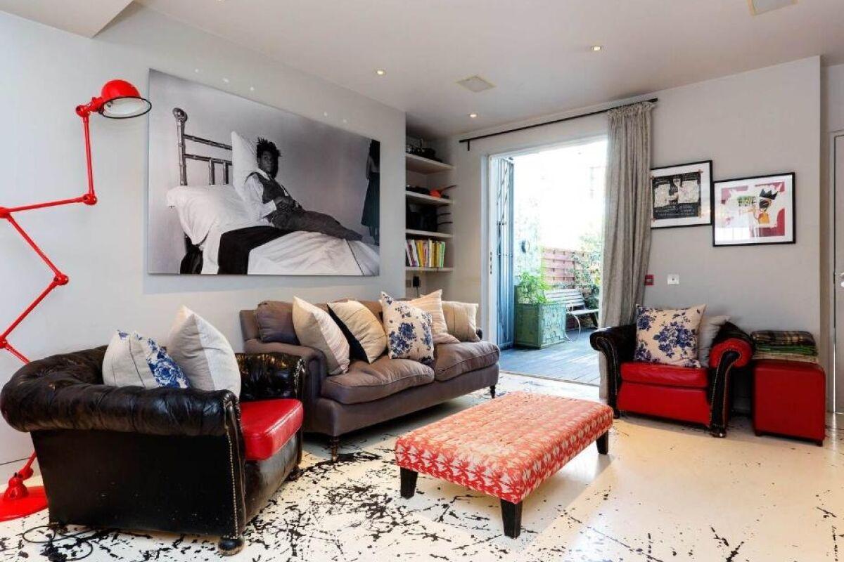 Living Area, Portobello Road Serviced Accommodation, London