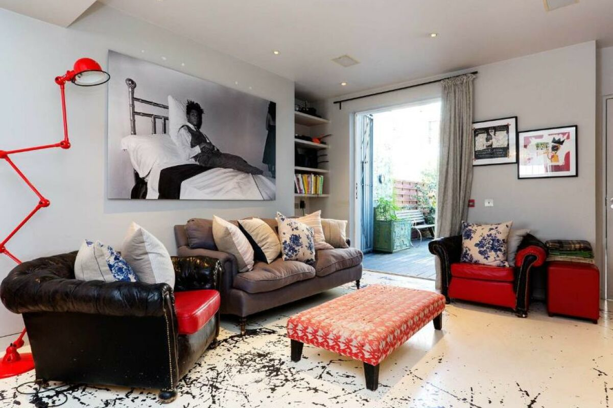 Living Area, Portobello Road Serviced Accommodation, London