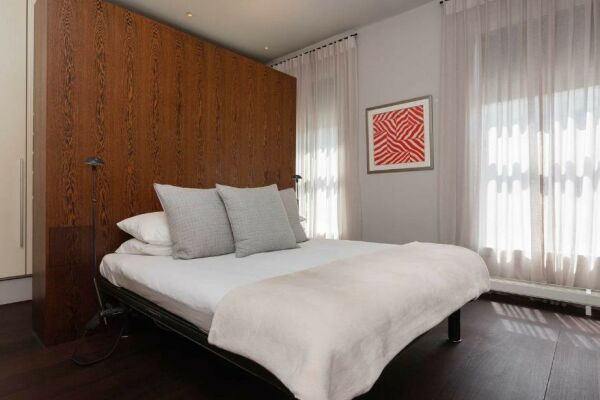 Bedroom, Portobello Road Serviced Accommodation, London