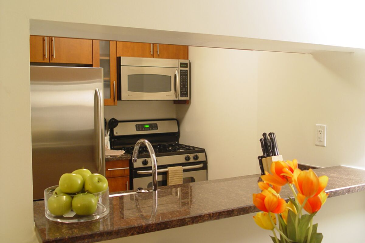 Kitchen, The Marc Serviced Apartments, Hell's Kitchen, New York
