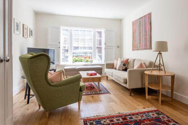 Living Area, Linhope Street Serviced Accommodation, Marylebone