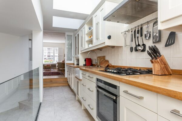 Kitchen, Linhope Street Serviced Accommodation, Marylebone