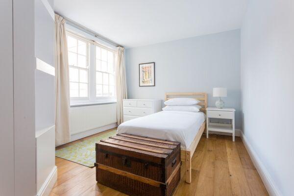 Bedroom, Linhope Street Serviced Accommodation, Marylebone