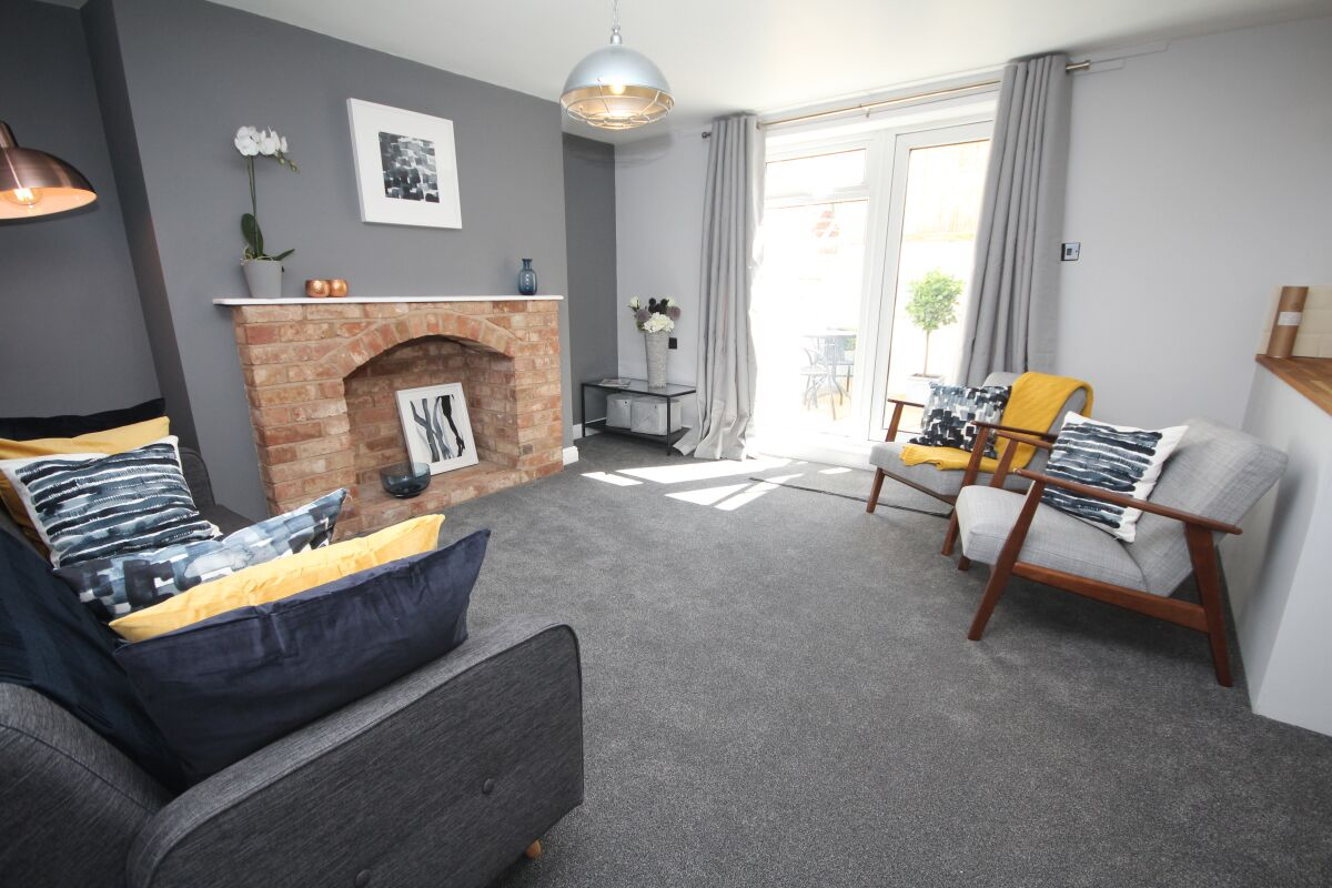 Living Area, The Courtyard Serviced Apartment, Leamington Spa