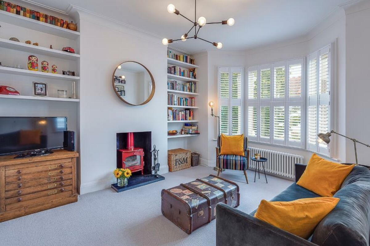 Living Area, Colwith Road Serviced Accommodation, London