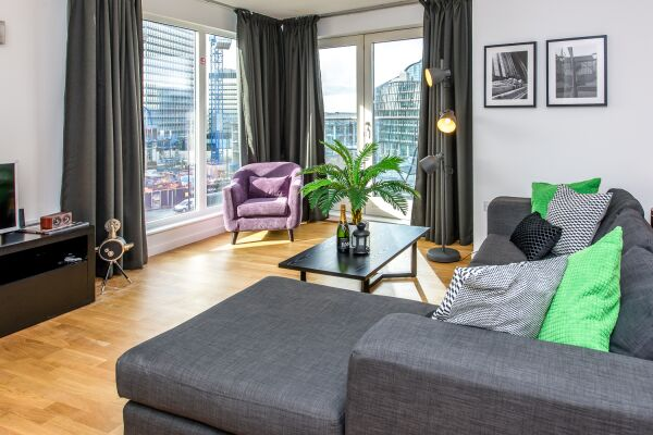 Living Area, Skyline Serviced Apartments, London