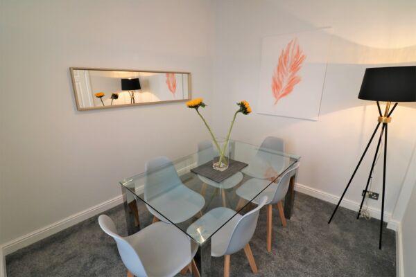 Dining Area, Brora House Serviced Accommodation, Hamilton