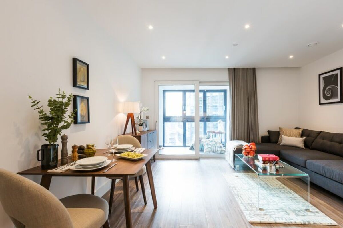 Sitting and Dining Area, Aldgate Place Serviced Apartments, Aldgate