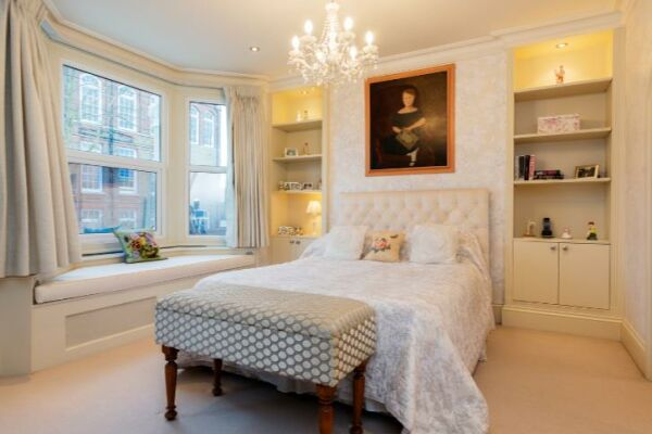 Bedroom, Kingwood Serviced Accommodation, London