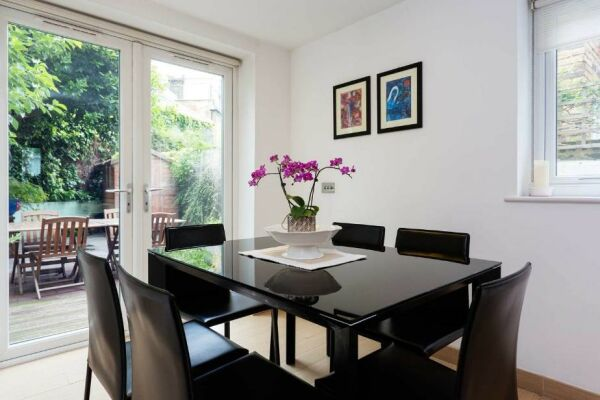 Dining Area, Fabian Road Serviced Accommodation, London