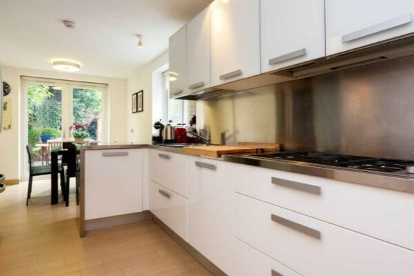 Kitchen, Fabian Road Serviced Accommodation, London