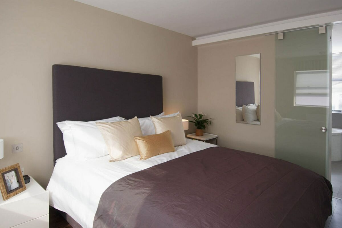 Bedroom, Church Entry Serviced Apartments, The City of London