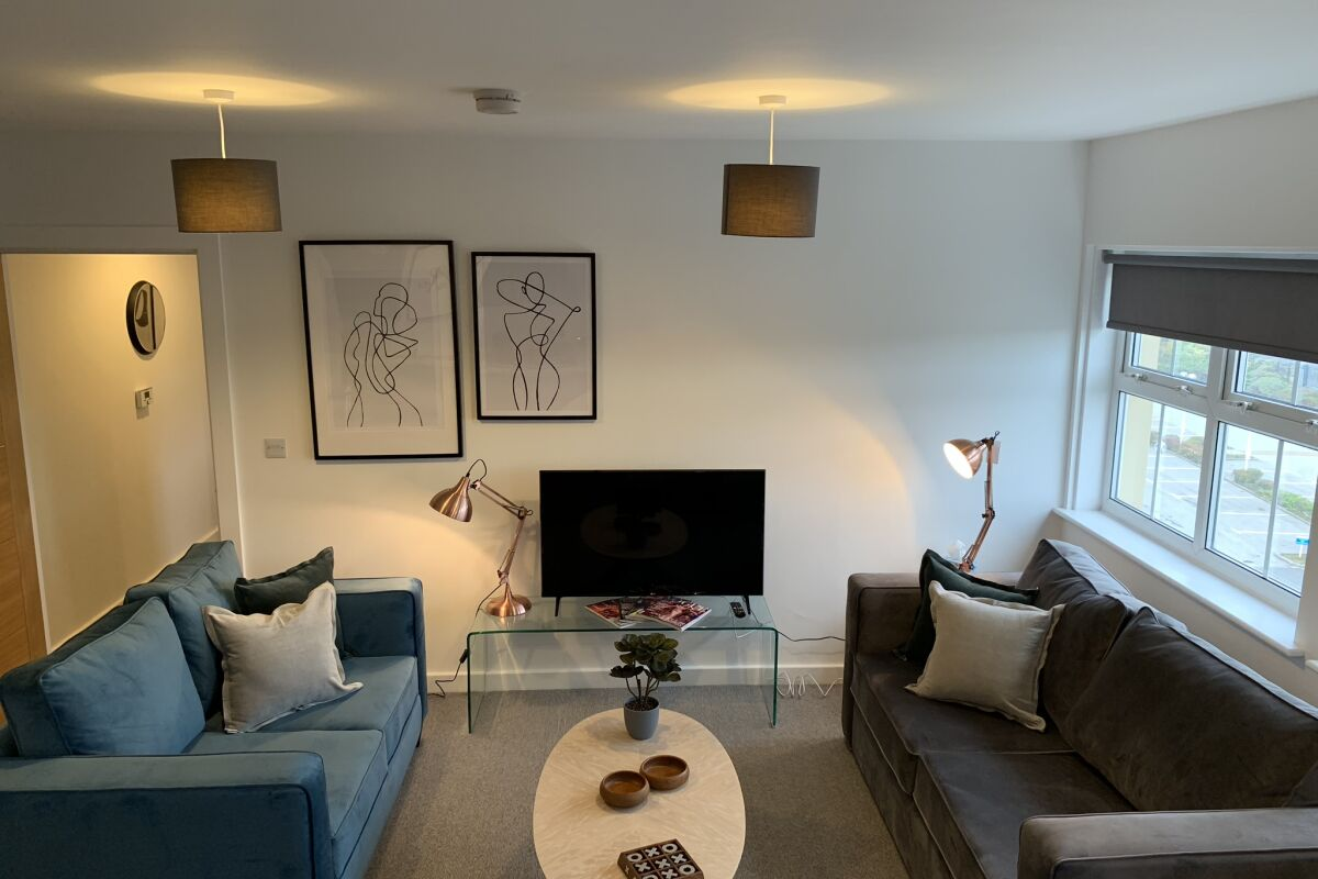 Living Area, Victoria House Serviced Apartments, Sheffield