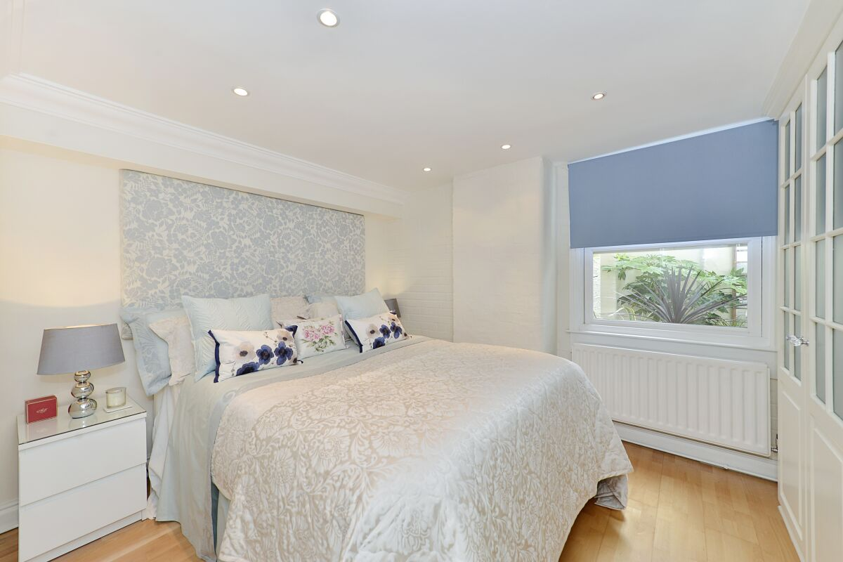 Bedroom, St John's Serviced Apartments, Westminster