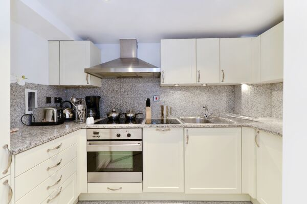 Kitchen, St John's Serviced Apartments, Westminster