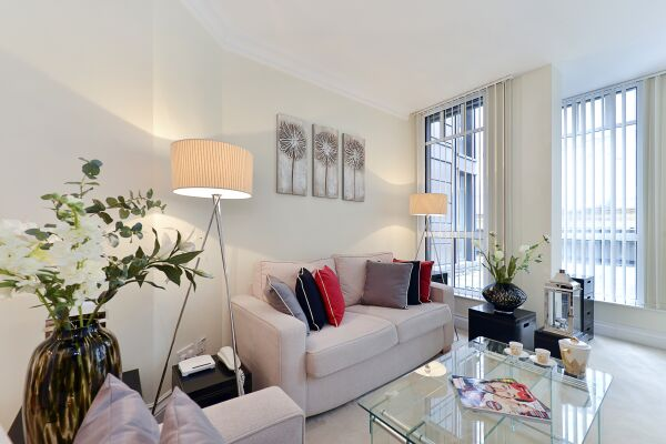 Living Area, St John's Serviced Apartments, Westminster