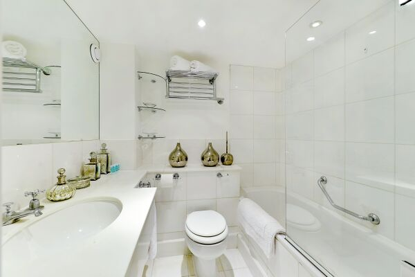 Bathroom, St John's Serviced Apartments, Westminster