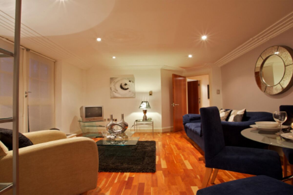 Living Area, Turner House Serviced Apartments, Covent Garden