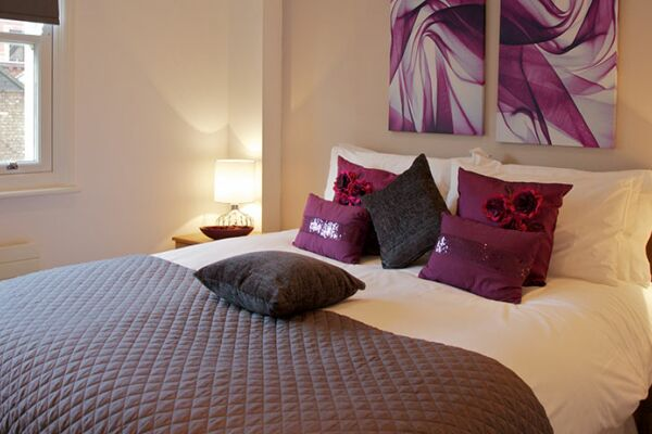 Bedroom, Turner House Serviced Apartments, Covent Garden