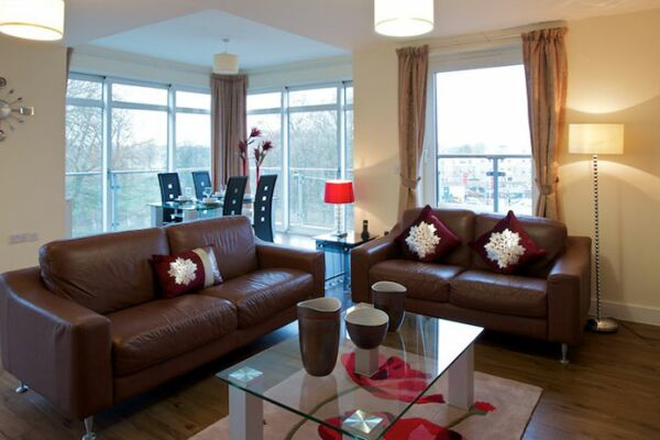 Living Room, Turner House Serviced Apartments, Covent Garden