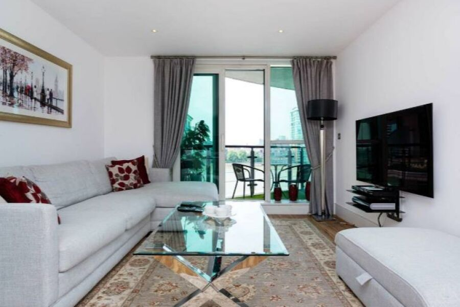 Vauxhall Bridge Apartment - Vauxhall, Central London