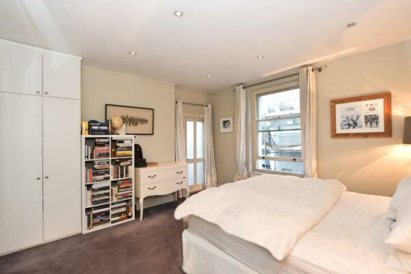 Bedroom, Seymour Walk Serviced Apartment, London