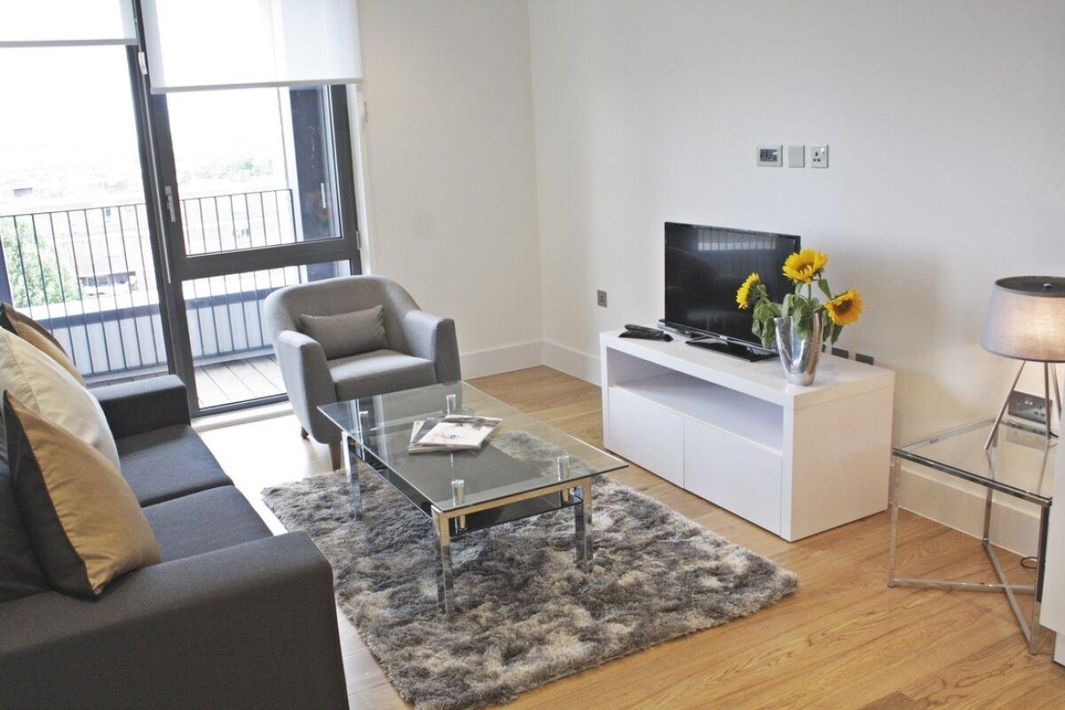 Lounge, Portobello Road Serviced Apartments, Notting Hill