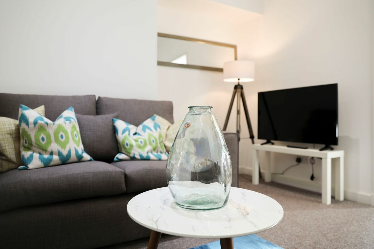 Living area, Serviced Accommodation, Hamilton