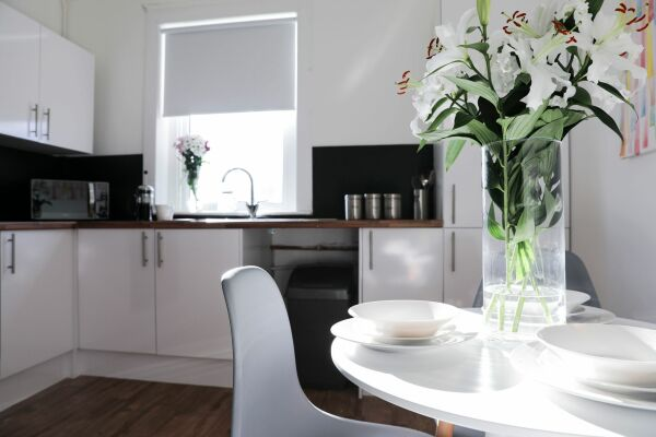 Dining area, Serviced Accommodation, Hamilton
