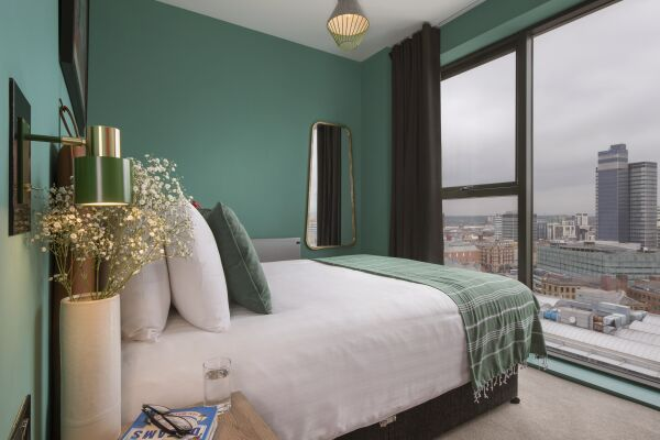 Bedroom, Church Street Serviced Apartments, Manchester