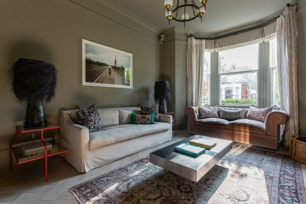 Living Area, Plympton Road Serviced Accommodation, London