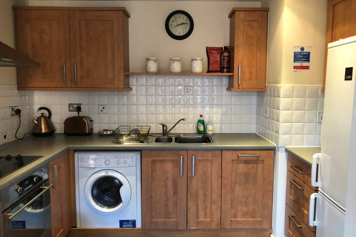 Kitchen, Manhattan Place Serviced Apartments, Liverpool