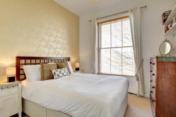 Bedroom, Medina Serviced Apartment, Hove, Brighton