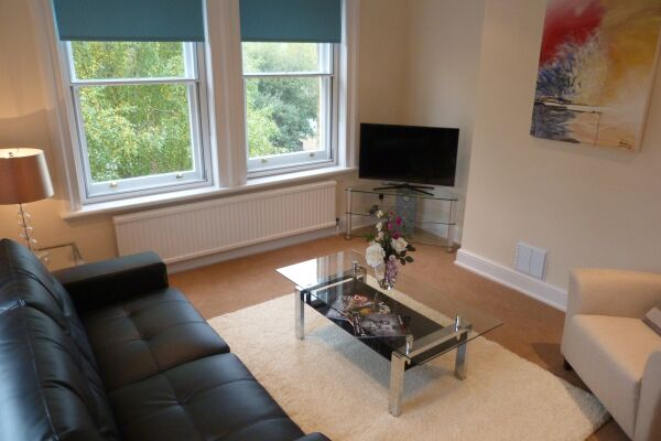 One & Two Bed Living Room, The Old Courthouse, Hughenden Road Serviced Apartments, High Wycombe