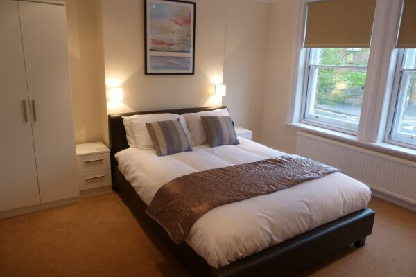 Bedroom, One & Two Bed, Hughenden Road Serviced Apartments, High Wycombe