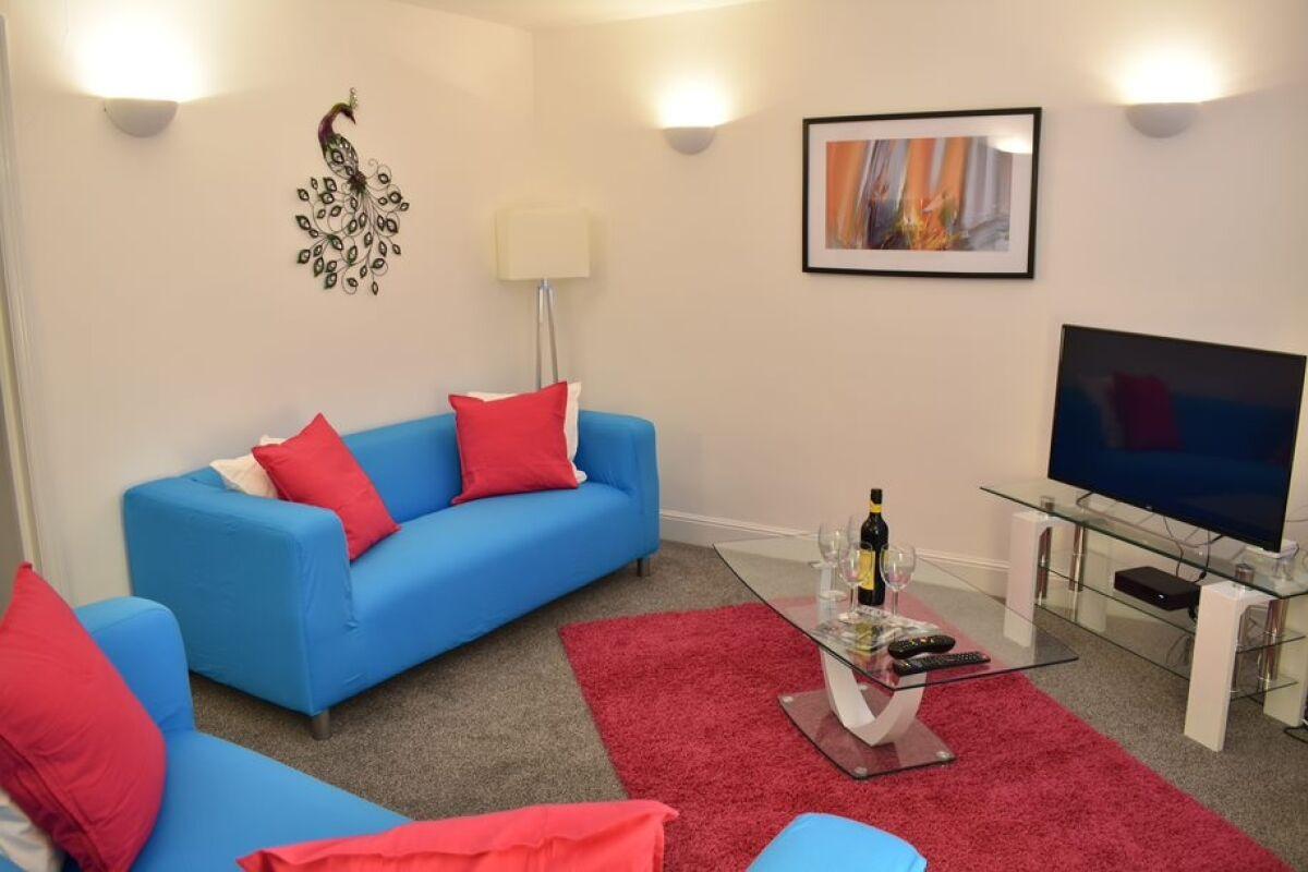 Lounge, Montpellier Villas Serviced Apartment, Cheltenham