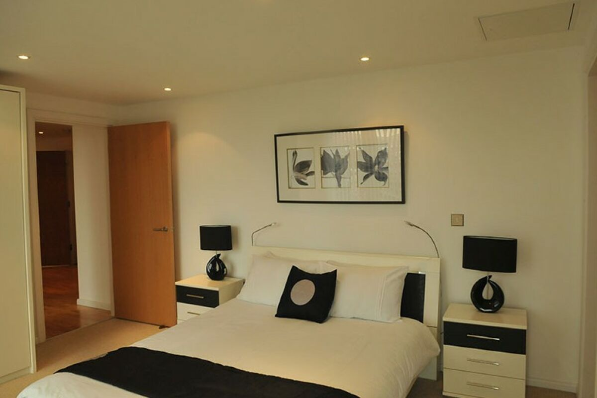 Bedroom,  Ability Place Serviced Apartment, Canary Wharf