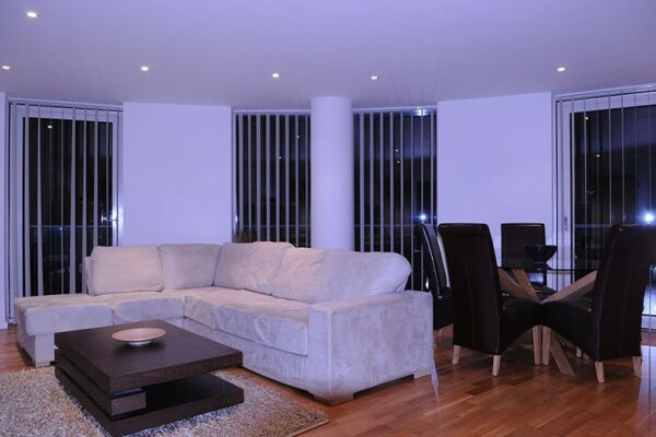 Living Area,  Ability Place Serviced Apartment, Canary Wharf